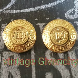 Vintage Givenchy Statement Earrings XLNT!